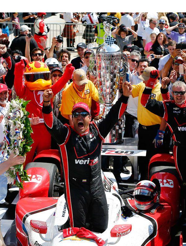 Juan Pablo Montoya Wins The 2015 Indianapolis500