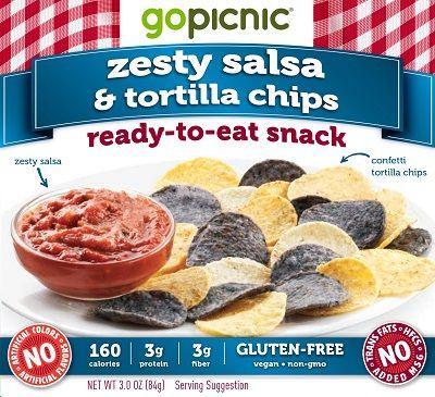 Zesty Salsa & Tortilla Chips - image