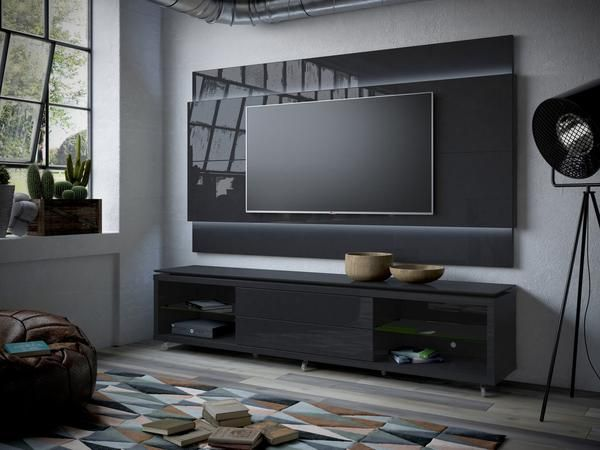 The Pardo White TV Unit Would Be A Simple, Yet Modern Addition To Either  Your Living Room Or Bedroom. It Is A Practical Design With Generous Displau2026