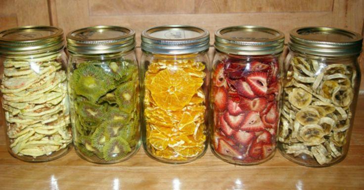 Jak sušit ovoce v elektrické troubě + příklady | Čarujeme