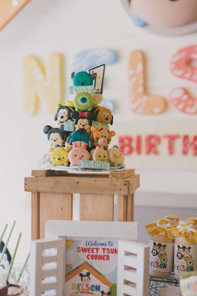 45 best Disney Tsum Tsum Party Ideas images on Pinterest Birthday