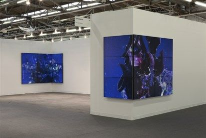 gallery installations video walls - Google Search