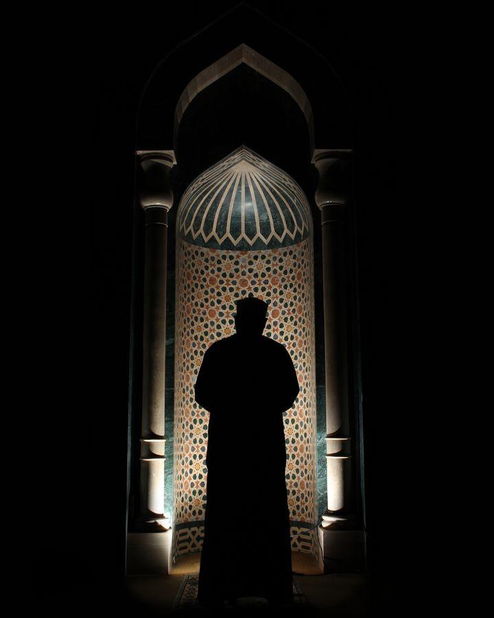 Praying in Egypt