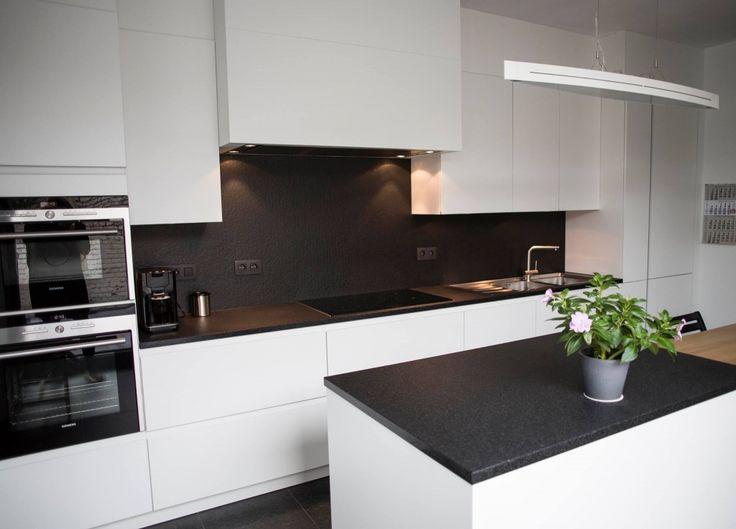 25 beste idee n over witte granieten keuken op pinterest keuken granieten aanrecht licht - Granieten werkblad keuken ...