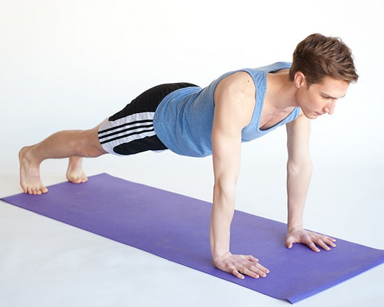 How to Do a Push Up: 8 steps - wikiHow  I will learn to do push ups in 2013!