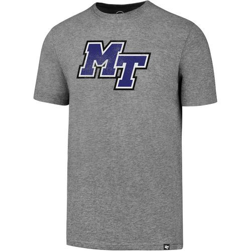 '47 Middle Tennessee State University Vault Knockaround Club T-shirt (Grey, Size XX Large) - NCAA Licensed Product, NCAA Men's Tops at Academy Sports