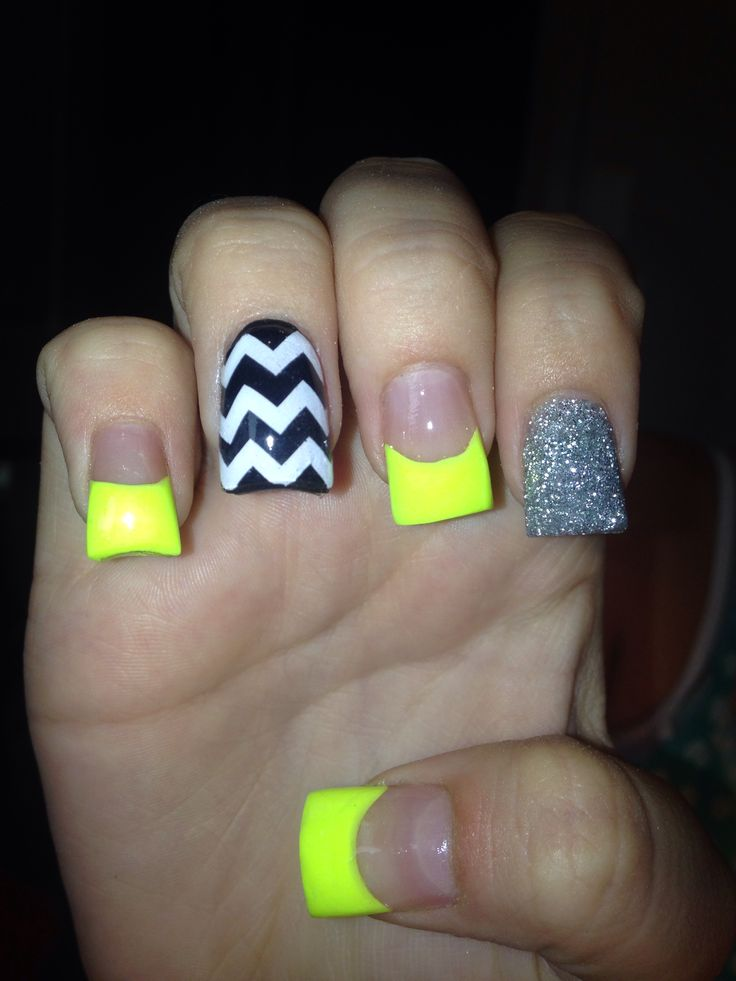 25 Best Ideas About Bright Acrylic Nails On Pinterest