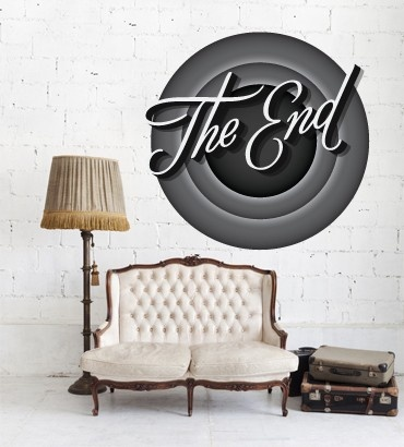 Streetwallz - The End Wall Decal, $90.00 (http://www.streetwallz.com/the-end-wall-decal/)