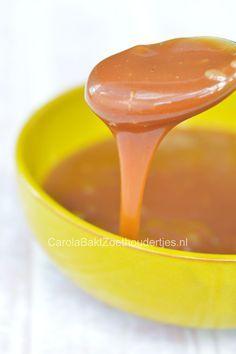 caramel sauce, the easy way Hoe maak je eenvoudig karamelsaus?