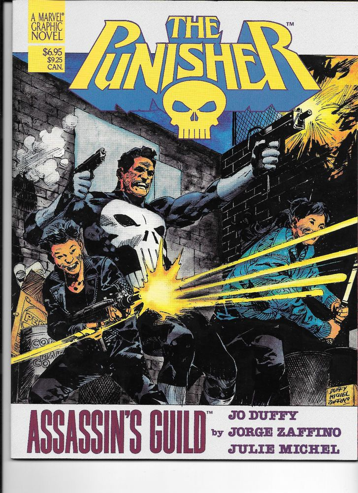 Marvel Graphic Novel The Punisher Assassin's Guild (1988 Marvel)