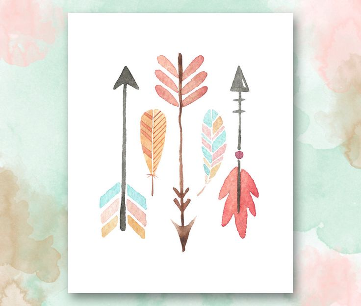 Arrows and Feathers Printable, Boho Chic Nursery Wall Art, Playroom Printable, Girls Room Printable, Pretty Plus Paper, Instant Download by PrettyPlusPaper on Etsy https://www.etsy.com/listing/241666920/arrows-and-feathers-printable-boho-chic