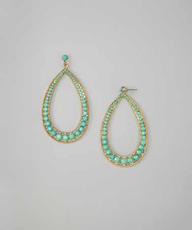 Look what I found on #zulily! Green Makenzie Earrings #zulilyfinds
