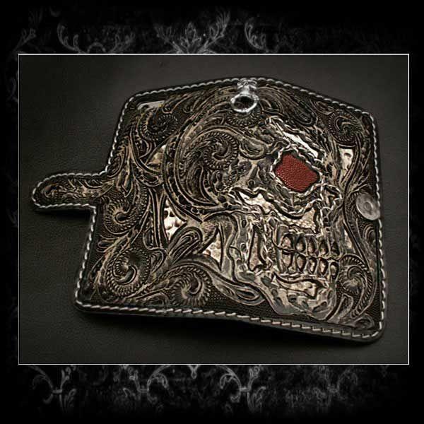 Cuori selvaggi | Rakuten Global Market: Genuine Leather iPhone 6 Plus / 6s plus di vibrazione della cassa del raccoglitore della copertura Stingray Python Skull & gotico intagliato cuori selvaggi Pelle e Argento (ID ip2863r50)