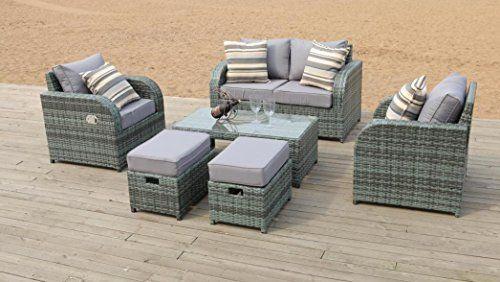 17 best ideas about gartenmoebel rattan lounge on. Black Bedroom Furniture Sets. Home Design Ideas