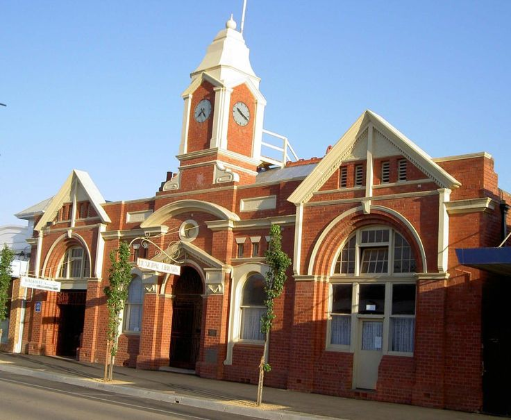 Kyabram Town Hall | History, Fashion, Art and Information – Isobel Harvie Collection