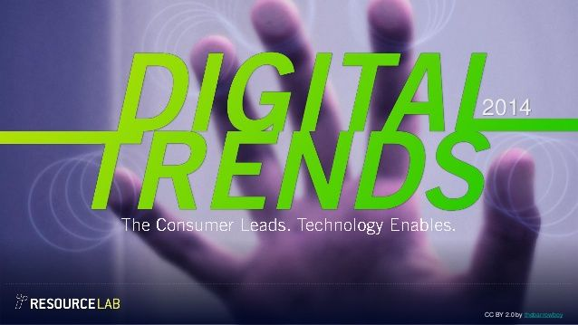 Digital Trends for 2014 by Resource