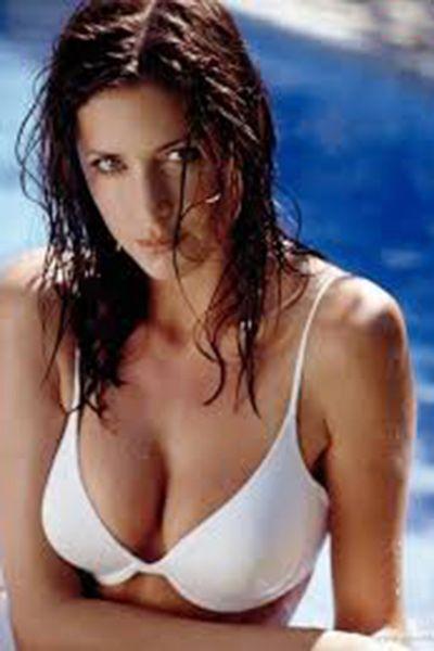 Katrina Kaif in white bikini