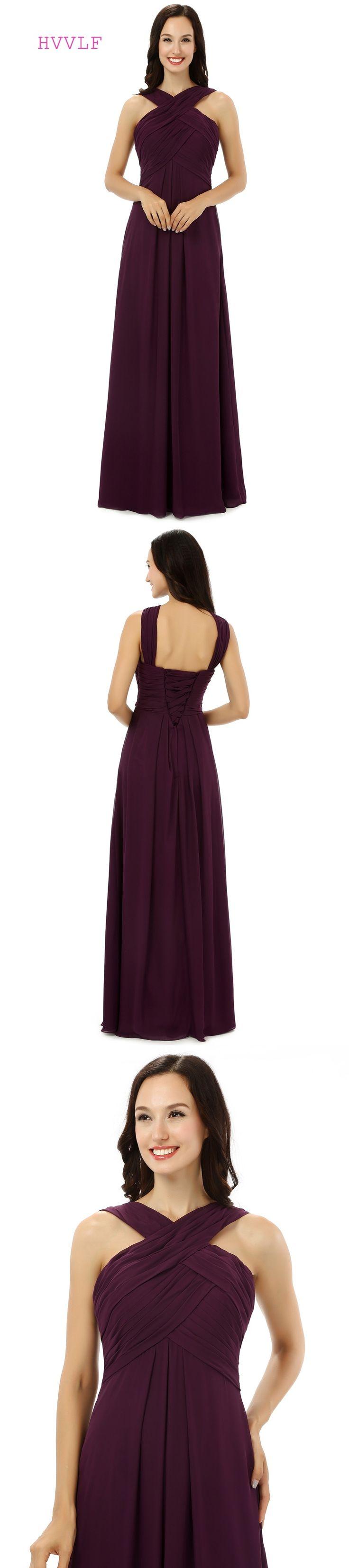144 best bridesmaid dresses images on pinterest bridesmaids cheap 2018 bridesmaid dresses under 50 a line halter floor length chiffon pleated purple long ombrellifo Choice Image