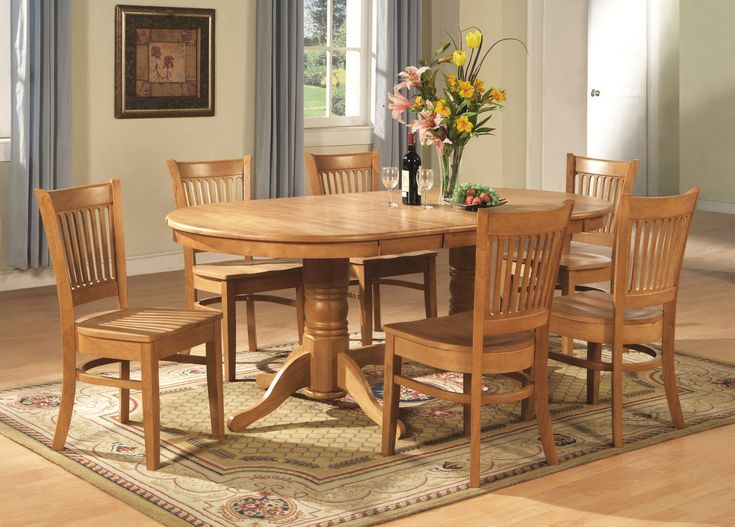 7 PC Vancouver Dining Set At Storesebay
