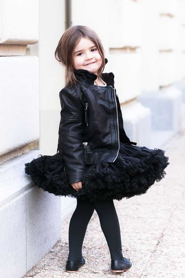 Biker Jakets super cute on the kiddies…just soften with sparkles and frills.