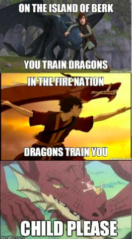 How to Train Your Dragon, The Last Avatar, Fairy Tail