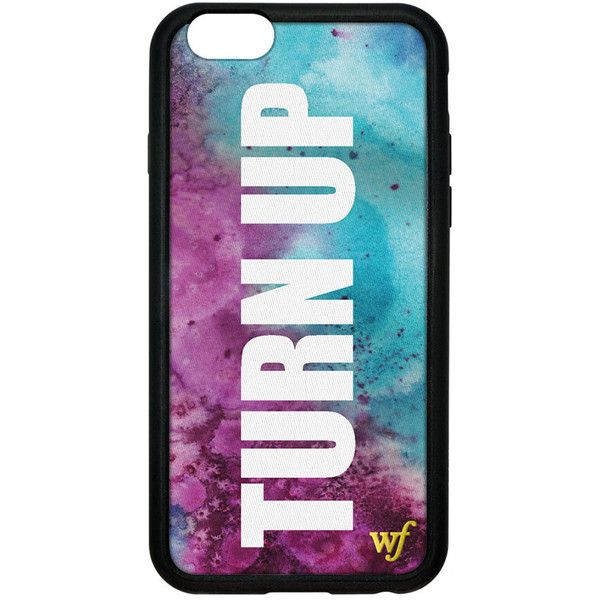 buy online f5e36 fe6b3 Forever 21 Wildflower Turn Up iPhone 6 Case ($40) ❤ liked on ...