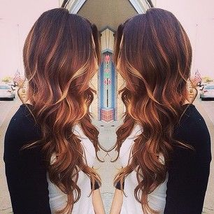 auburn ombre - @Stephanie Grijalva please come to StL to do this to my hair before the wedding, or tell me how to get someone to do this to my hair properly!!! ;)