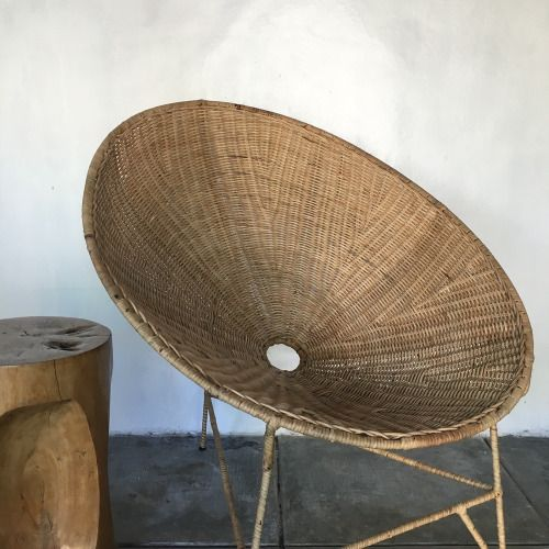WORN | The CANE OVAL Relax Chair