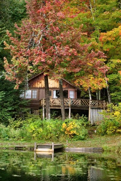 Our beloved Cabin #9 on Minerva Lake
