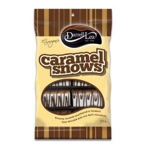 Darrell Lea Choc Caramel Snow 165g