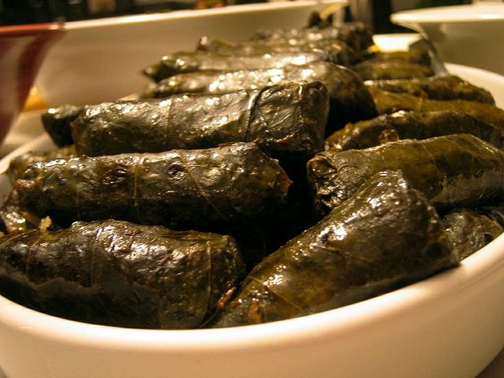 Armenian cuisine...used to loveeeee going to pick the biggest grape leaves with my grandma. Another fave. I could eat 100 of them and still keep going.