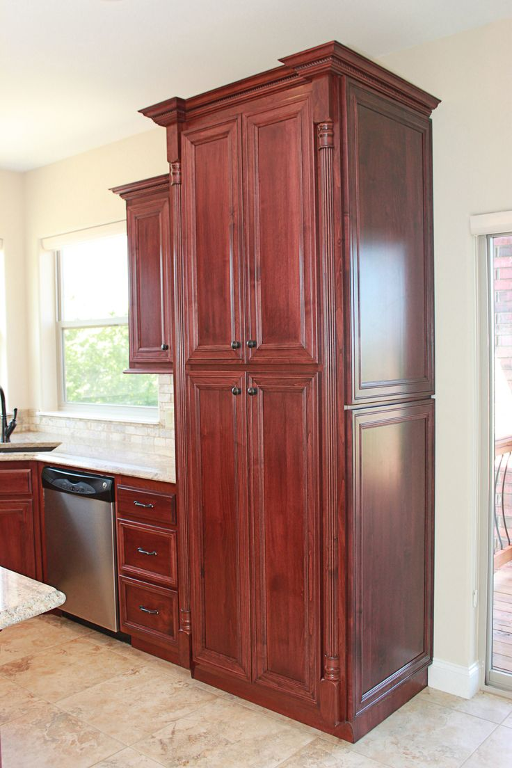Pin by Cabinets Plus on Clear Alder Cabinets | Tall ...