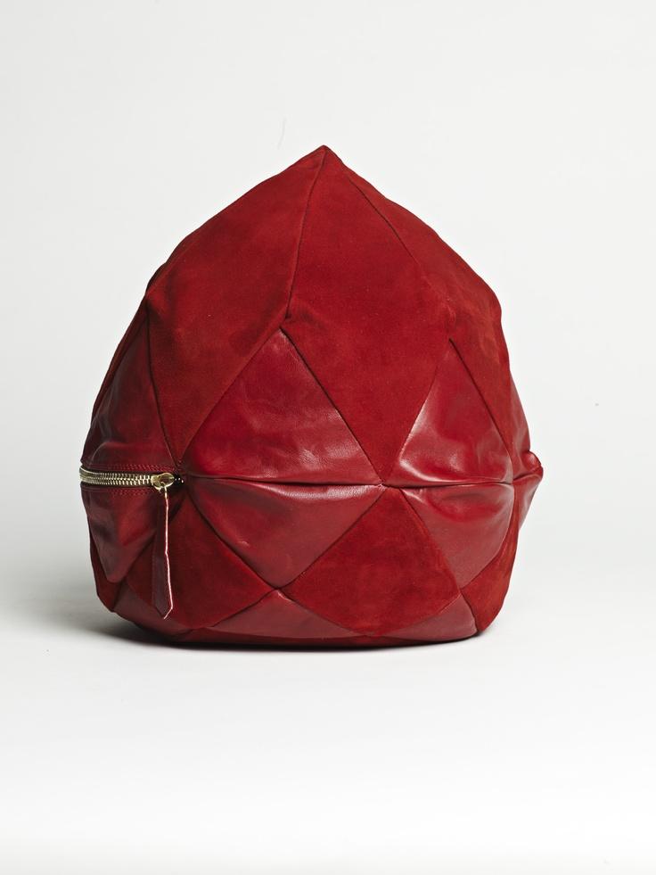 RED HARLEQUIN DIAMOND  larissahadjio.com