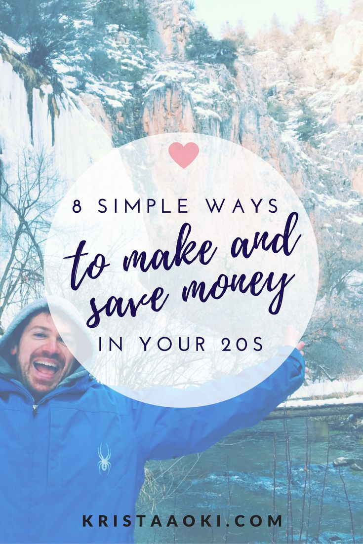 8 Simple Ways to Save and Make Money in Your Twenties at KristaAoki.com, a lifestyle and travel blog. personal finance tips, entrepreneurial advice, and savings tips for the millennial who wants to live a life they love