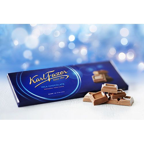 Finnish chocolate and candy is back in stock! Great stocking stuffers.