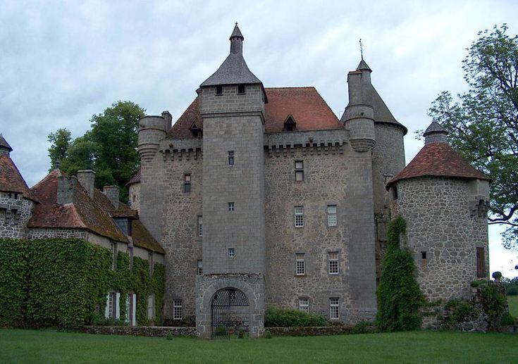 Château de Villemonteix - Chénérailles, Creuse, Limousin