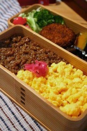 お弁当に最適★ぽろぽろしないそぼろご飯 by ちさぷー [クックパッド] 簡単おいしいみんなのレシピが249万品