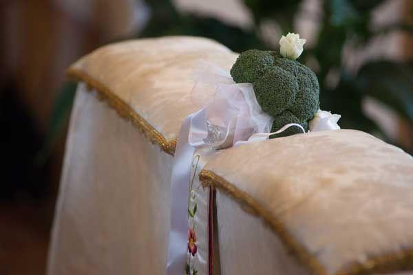 Bouquet fai da te con le verdure