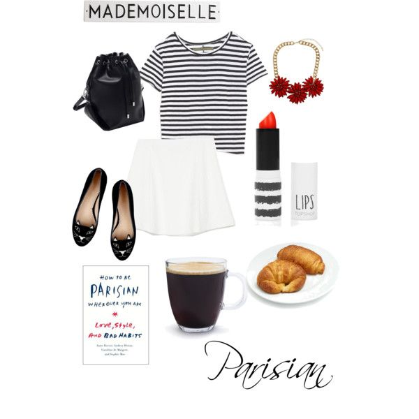 Parisian by polinanstyle on Polyvore featuring мода, Enza Costa, Zara, Topshop, Bodum and Rosanna
