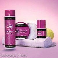 Kolekce WTA Strong is Beautiful Oriflame Potřebujete cítit silnou ochranu celý den? #Oriflame se nechal inspirovat obdivuhodnými ženami z ženské tenisová asociace #WTA. Ve spolupráci s tenistkami tak vznikla speciální kolekce praktických produktů, které se postarají o vaši každodenní svěžest a hydrataci.  http://www.orif24.cz/oriflame-aktualni-katalog/