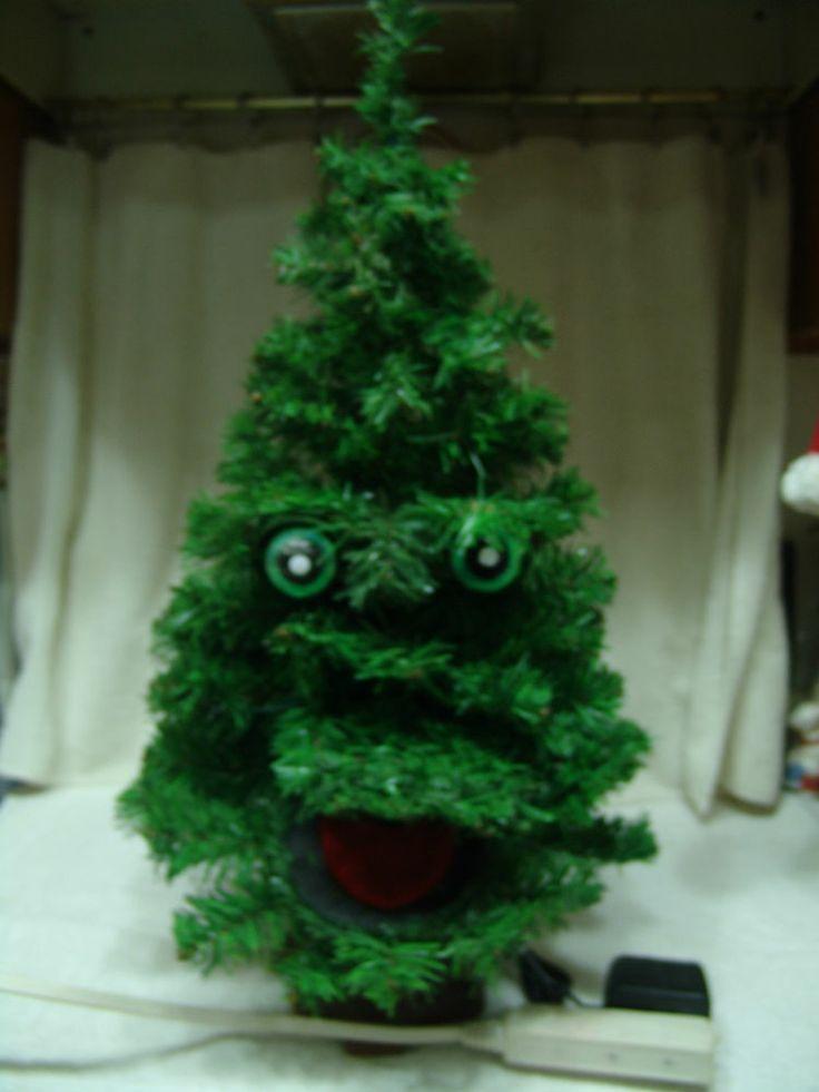 christmas trees singing tree - photo #39