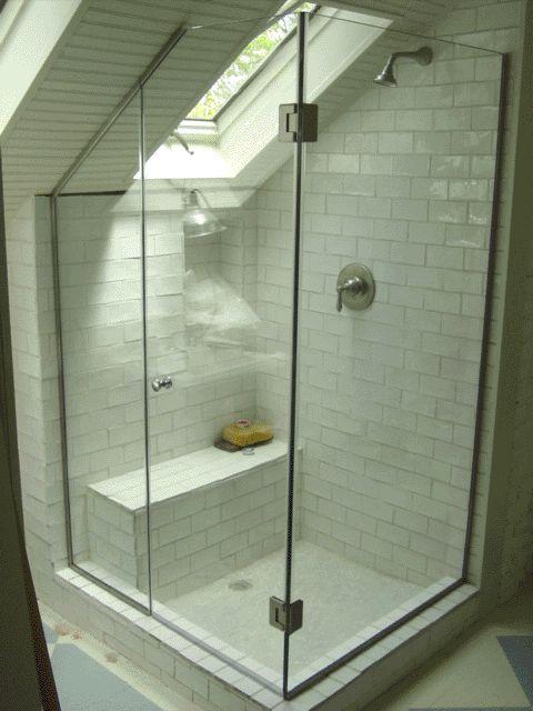 corner frameless shower enclosures - Google Search