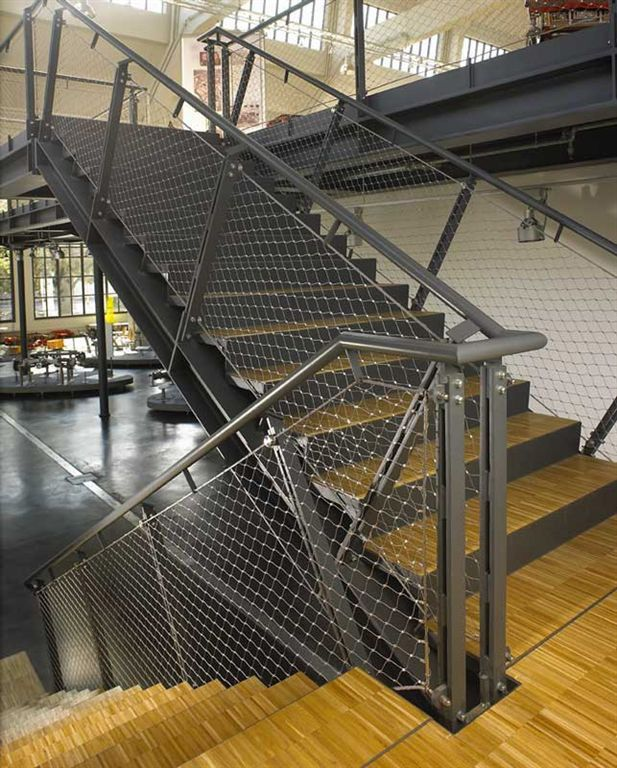 Industrial Metal Staircase Design: 25+ Best Ideas About Steel Railing On Pinterest