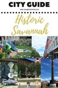 Historic Savannah City Guide - Family Friendly tips to traveling to Savannah Georgia