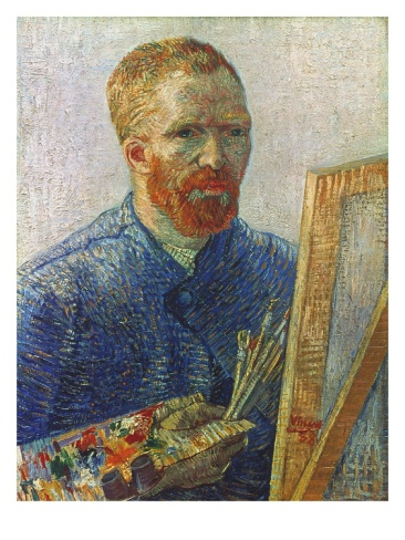 Vincent Van Gogh (1853-1890) by Vincent van Gogh. Giclee print from Art.com.