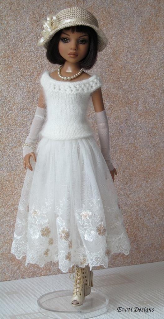 OOAK Outfit for Ellowyne Wilde by *evati* via eBay, SOLD 6/29/14 $200.46