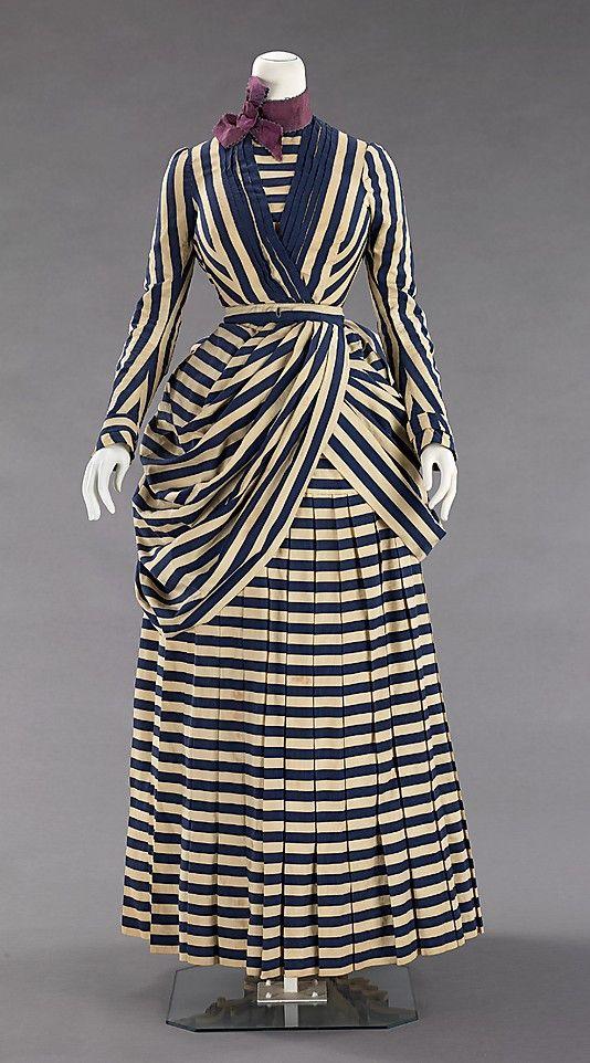 Date: 1885–88 Culture: American Medium: cotton, silk
