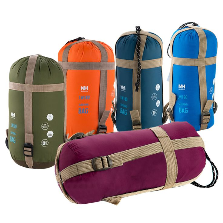 NatureHike Mini Ultralight Multifuntion Portable Outdoor Envelope Sleeping Bag Travel Bag Hiking Camping Equipment 700g 5 Colors