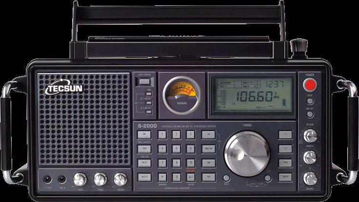 TECSUN S 2000 FM、MW、LW、SW、Air Band SSB Radio (S2000)