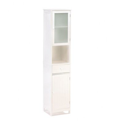 """Zingz & Thingz Lakeside 14.63"""" x 70.88"""" Free Standing Linen Tower"""